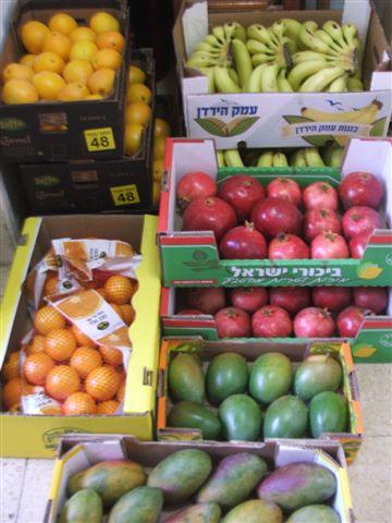 קניות בשוק הסיטונאי, יום שני 31.10.2011