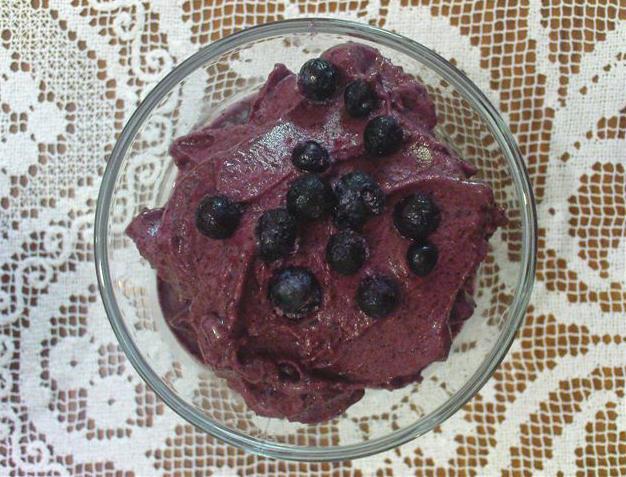 גלידת פירות יער