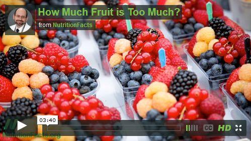כמה פירות זה יותר מידי?