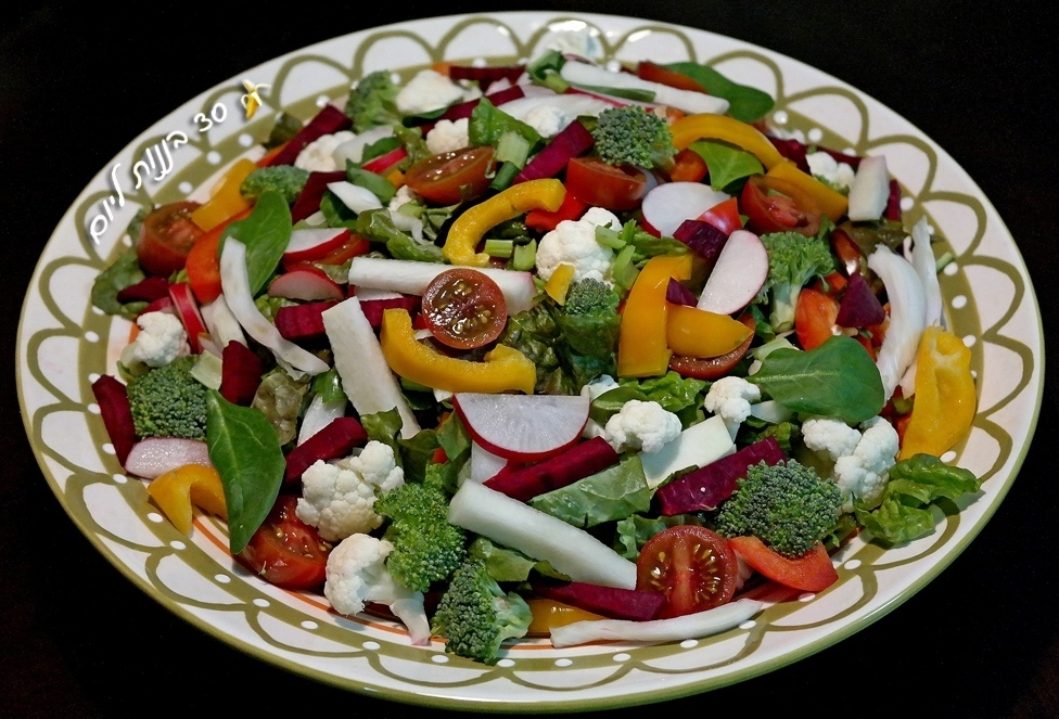 winter-veggie-salad